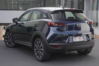 2020 Mazda CX-3 DK2W7A Akari SKYACTIV-Drive FWD Deep Crystal Blue 6 Speed Sports Automatic Wagon.
