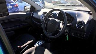 2016 Mitsubishi Mirage LA MY16 ES Blue 1 Speed Constant Variable Sedan