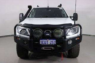 2015 Mazda BT-50 MY16 XTR (4x4) White 6 Speed Automatic Dual Cab Utility.