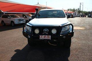 2016 Toyota Landcruiser Prado GDJ150R GX Silver Pearl 6 Speed Manual Wagon.