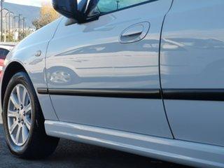 2007 Ford Falcon BF Mk II XT White 4 Speed Sports Automatic Sedan.