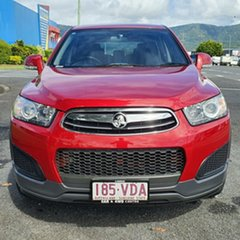 2014 Holden Captiva CG MY14 7 LS Red 6 Speed Sports Automatic Wagon