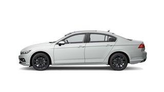 2021 Volkswagen Passat B8 162TSI Elegance Pure White 6 Speed Semi Auto Sedan.