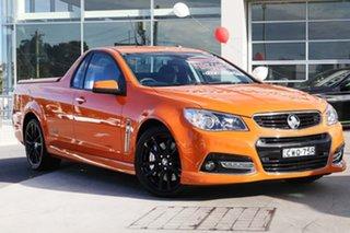 2014 Holden Ute VF MY14 SS V Ute Redline Fantale Orange 6 Speed Sports Automatic Utility.
