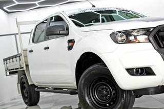 2016 Ford Ranger PX MkII MY17 XL 3.2 (4x4) White 6 Speed Automatic Crew Cab Chassis.