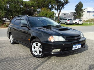 2000 Toyota Caldina ST-215W Black 4 Speed Automatic Wagon.