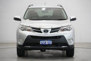 2013 Toyota RAV4 ASA44R GX AWD Silver 6 Speed Sports Automatic Wagon.