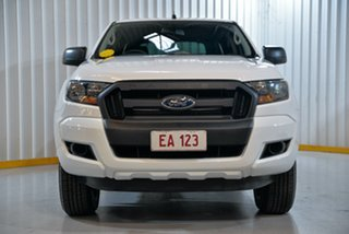2017 Ford Ranger PX MkII XL Plus White 6 Speed Sports Automatic Cab Chassis