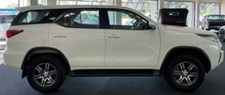 2020 Toyota Fortuner GUN156R GX White 6 Speed Automatic Wagon.