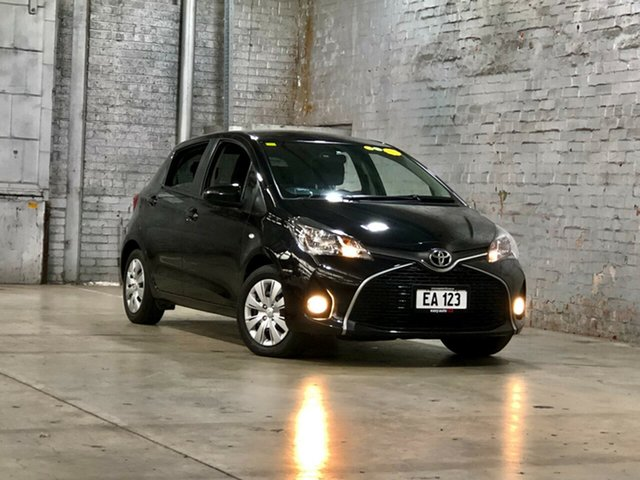 Used Toyota Yaris NCP131R SX Mile End South, 2016 Toyota Yaris NCP131R SX Black 4 Speed Automatic Hatchback