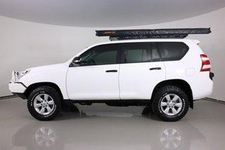 2015 Toyota Landcruiser Prado KDJ150R MY14 GX (4x4) White 6 Speed Manual Wagon