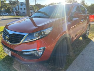 2012 Kia Sportage SL MY12 Platinum Orange 6 Speed Sports Automatic Wagon.