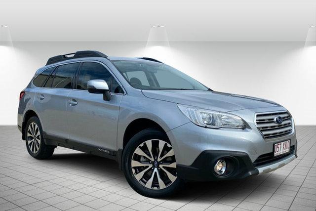 Used Subaru Outback B6A MY17 2.5i CVT AWD Hervey Bay, 2017 Subaru Outback B6A MY17 2.5i CVT AWD Silver 6 Speed Constant Variable Wagon