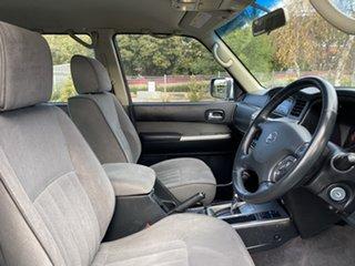 2009 Nissan Patrol GU 6 MY08 ST Silver 4 Speed Automatic Wagon.