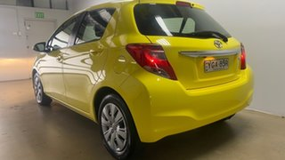 2015 Toyota Yaris NCP130R MY15 Ascent Yellow 5 Speed Manual Hatchback