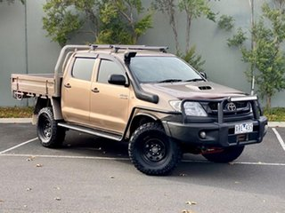 2010 Toyota Hilux KUN26R MY10 SR Gold 5 Speed Manual Cab Chassis.