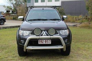 2014 Mitsubishi Triton MN MY15 GLX-R Double Cab Warrior Grey 5 Speed Manual Utility.