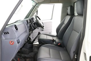 2016 Toyota Landcruiser LC70 VDJ79R MY17 Workmate (4x4) White 5 Speed Manual Cab Chassis