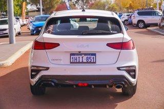 2021 Kia Cerato BD S White Sports Automatic Hatchback.