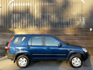 2002 Honda CR-V RD MY2002 4WD Blue 5 Speed Manual Wagon.