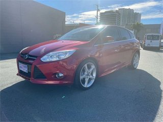 2014 Ford Focus LW MK2 MY14 Titanium Red 6 Speed Automatic Hatchback