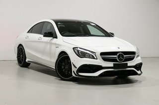 2019 Mercedes-AMG CLA45 117 MY18.5 4Matic White 7 Speed Automatic Coupe.