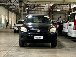 2006 Toyota RAV4 ACA33R CV Black 4 Speed Automatic Wagon.