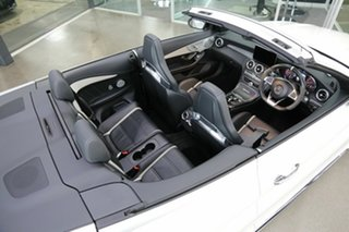 2016 Mercedes-Benz C-Class A205 C63 AMG SPEEDSHIFT MCT S White 7 Speed Sports Automatic Cabriolet