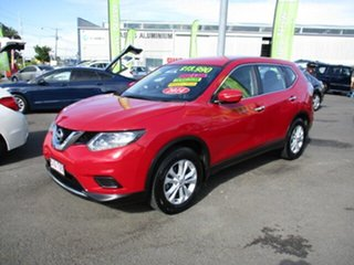 2014 Nissan X-Trail ST Red 4 Speed Automatic Wagon.