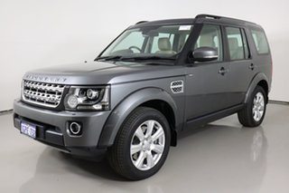2015 Land Rover Discovery LC MY16.5 HSE Grey 8 Speed Automatic Wagon.