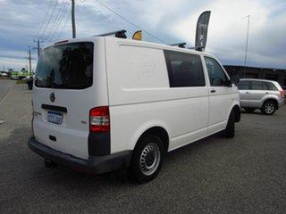 2013 Volkswagen Transporter T5 MY12 TDI 250 Runner SE White 5 Speed Manual Van.