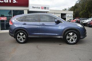 2014 Honda CR-V RM MY15 VTi Plus Twilight Blue 5 Speed Automatic Wagon.