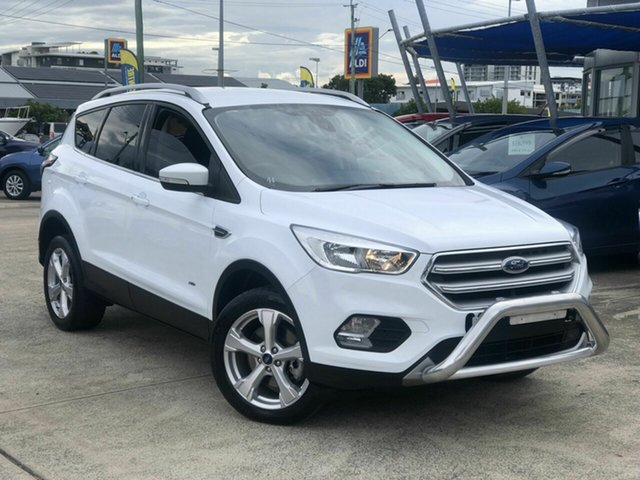 Used Ford Escape ZG 2018.00MY Trend Chermside, 2018 Ford Escape ZG 2018.00MY Trend White 6 Speed Sports Automatic Dual Clutch SUV