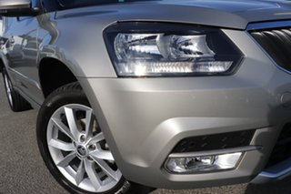 2017 Skoda Yeti 5L MY17 81TSI DSG Cappuccino Beige/grey 7 Speed Sports Automatic Dual Clutch Wagon.