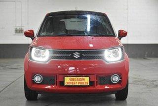 2016 Suzuki Ignis MF GLX Red 1 Speed Constant Variable Hatchback.