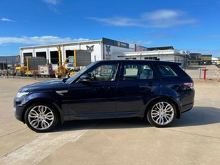 2017 Land Rover Range Rover Sport L494 18MY HSE Blue/290917 8 Speed Sports Automatic Wagon