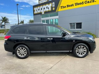 2015 Nissan Pathfinder R52 MY15 ST X-tronic 2WD Black/190216 1 Speed Constant Variable Wagon.