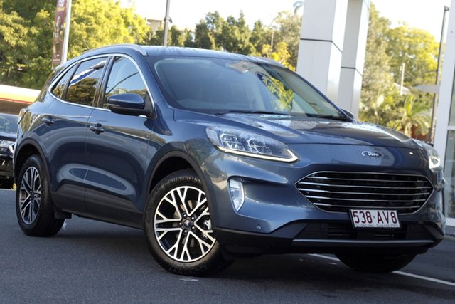 Used Ford Escape ZH 2020.75MY Newstead, 2020 Ford Escape ZH 2020.75MY Blue 8 Speed Sports Automatic SUV