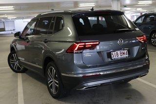 2020 Volkswagen Tiguan 5N MY21 140TDI Highline DSG 4MOTION Allspace Platinum Grey 7 Speed.