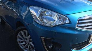 2016 Mitsubishi Mirage LA MY16 ES Blue 1 Speed Constant Variable Sedan.
