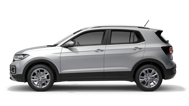New Volkswagen T-Cross C1 85TSI Style Hamilton, 2021 Volkswagen T-Cross C1 85TSI Style Reflex Silver 7 Speed Semi Auto SUV