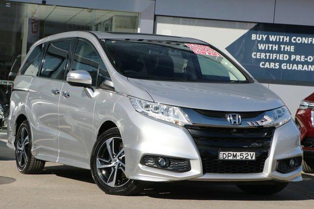 Used Honda Odyssey RC MY17 VTi-L Homebush, 2017 Honda Odyssey RC MY17 VTi-L Super Platinum 7 Speed Constant Variable Wagon