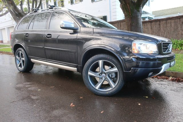 Used Volvo XC90 P28 MY12 R-Design Geartronic Prospect, 2012 Volvo XC90 P28 MY12 R-Design Geartronic Black 6 Speed Sports Automatic Wagon