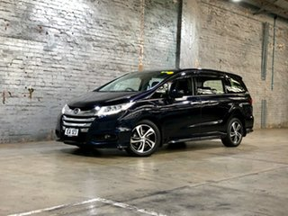 2016 Honda Odyssey RC MY16 VTi-L Purple/Black 7 Speed Constant Variable Wagon.