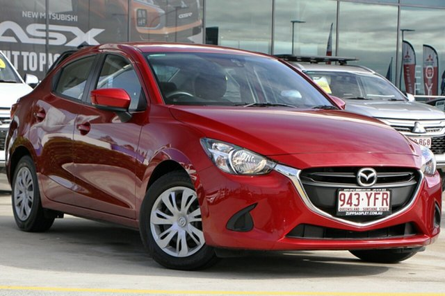 Used Mazda 2 DL2SAA Neo SKYACTIV-Drive Aspley, 2018 Mazda 2 DL2SAA Neo SKYACTIV-Drive Red 6 Speed Sports Automatic Sedan