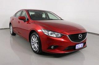 2015 Mazda 6 6C MY15 Sport Red 6 Speed Automatic Sedan.