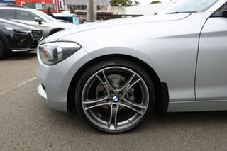 2014 BMW 116i F20 MY14 Glacier Silver 8 Speed Automatic Hatchback.