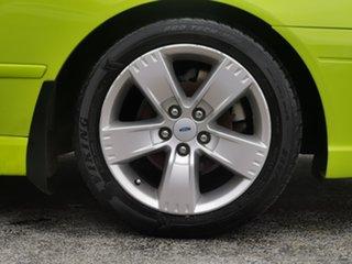 2007 Ford Falcon BF Mk II XR6 Green 6 Speed Sports Automatic Sedan