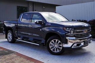 2020 Chevrolet Silverado T1 MY21 Northsky Blue Metallic 10 Speed Automatic Utility.