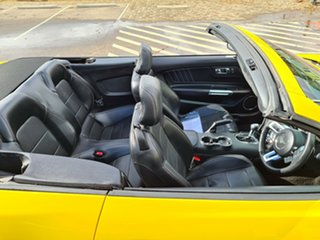 2017 Ford Mustang FM 2017MY SelectShift Yellow 6 Speed Sports Automatic Convertible
